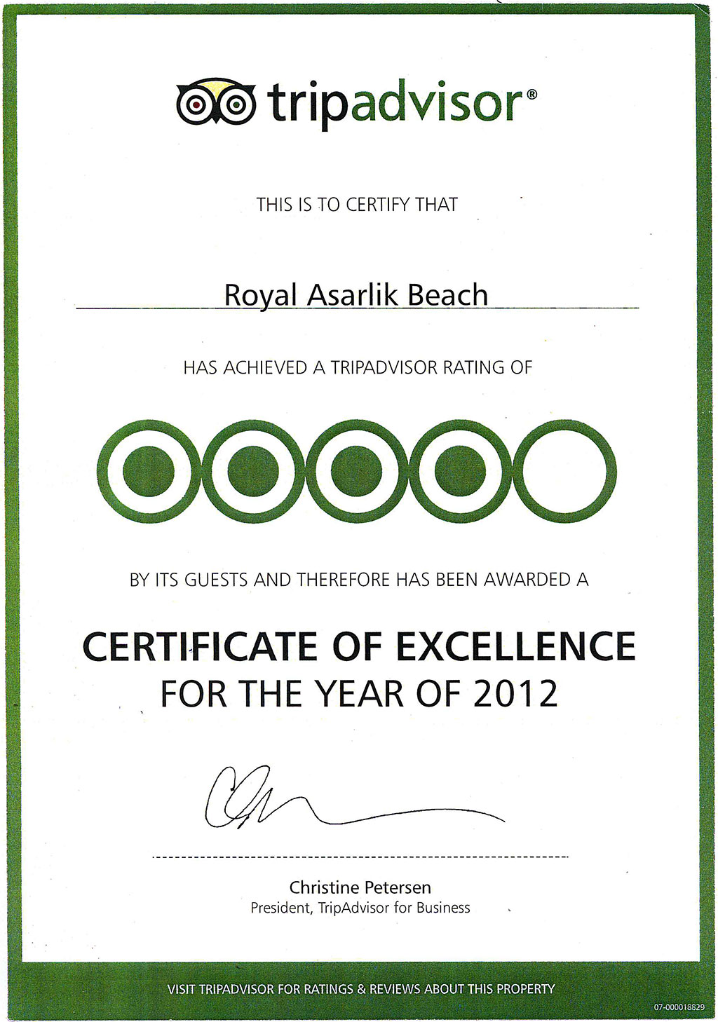 12 certificate awards royal asarlk beach hotel spa gumbet 12 certificate awards royal asarlk beach hotel spa gumbet bodrum turkey xflitez Images
